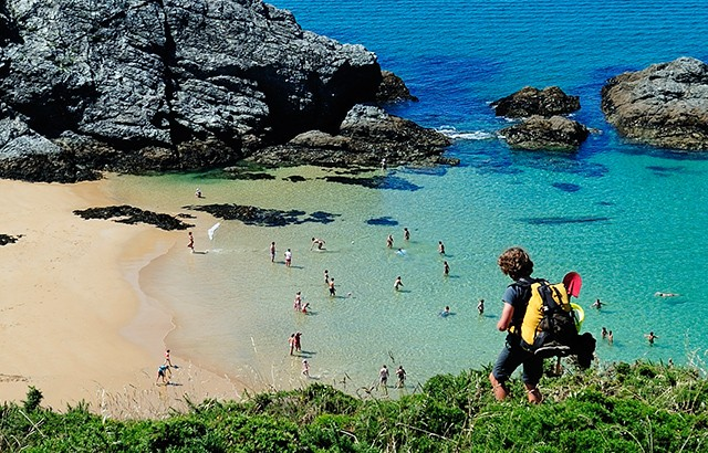 belle ile en mer beautiful island the largest off brittany