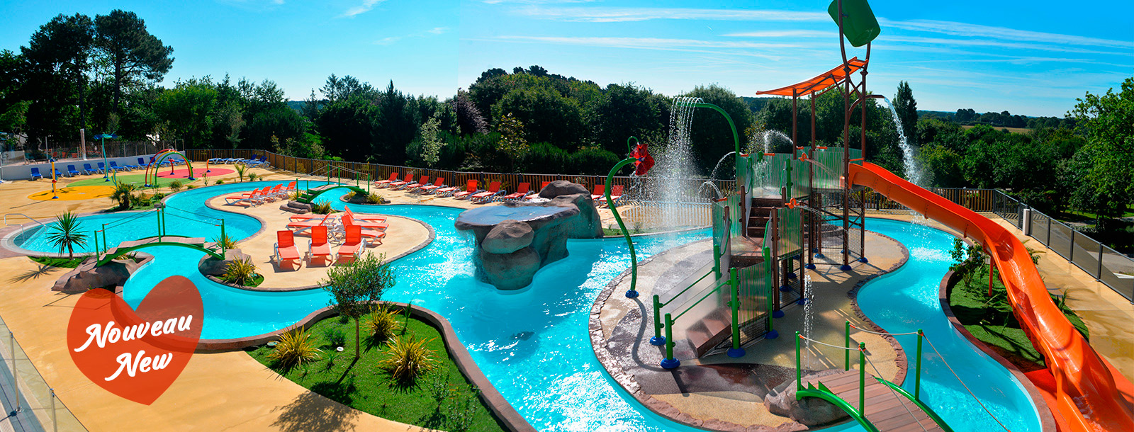 The Aquatic Park doubles its size for unforgettable holidays!