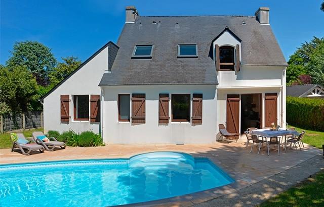 Villa de la Plage avec piscine (non chauffée)