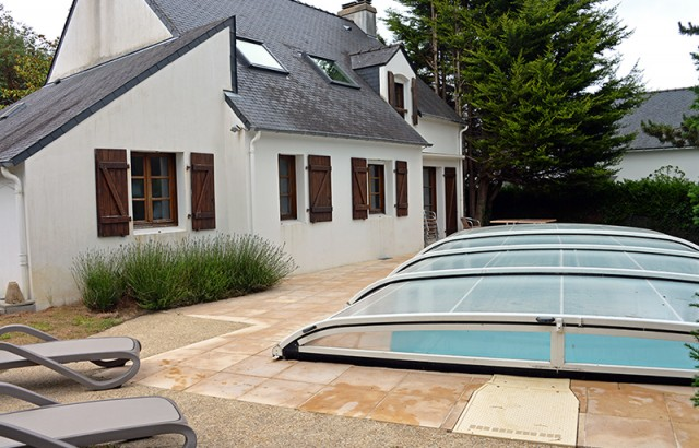 Piscine privée 8m x 4m