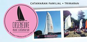 Logo Caseneuve Maxi Catamaran