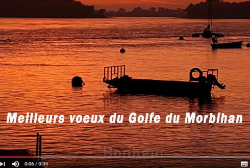Meilleurs voeux du Golfe du Morbihan