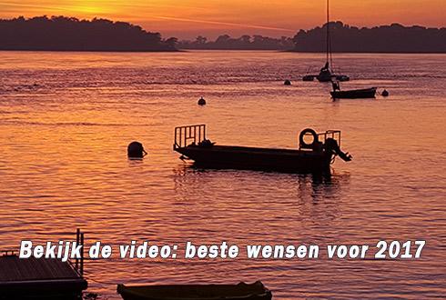 Bekijk de video: beste wensen voor 2017