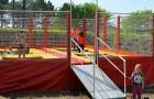 Nouveaux trampolines pour les enfants