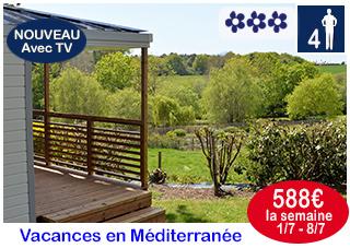Cottage Méditerranée vacances de Pâques