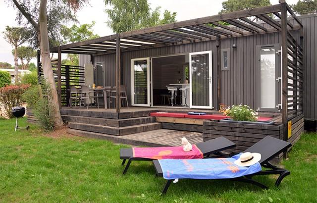 Le nouveau cottage Zen et sa terrasse couverte
