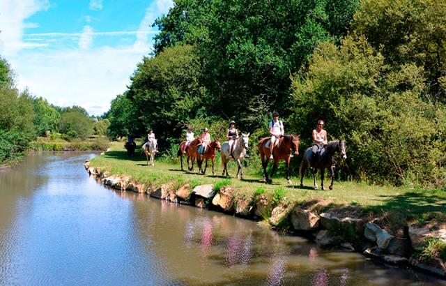 Cours et balades à poney au Centre équestre