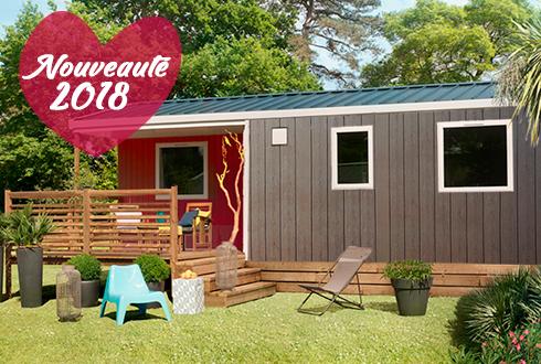 Nouveau mobil-home Atlantique au camping Mané Guernehué
