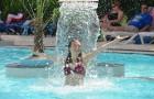 Jet d'eau au Parc aquatique