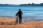 Rêverie au bord de la plage Golfe du Morbihan