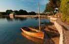 Coucher de soleil sur le Golfe du Morbihan @ CRT Emmanuel Berthier