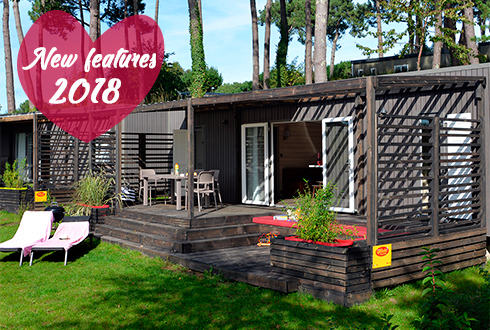 New features for 2018 in Mané Guernehué campsite