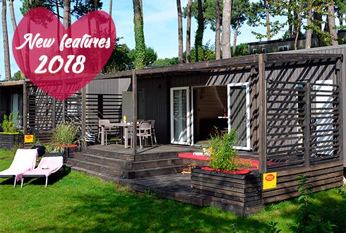 New features for 2018 in Mané Guernehué campsite
