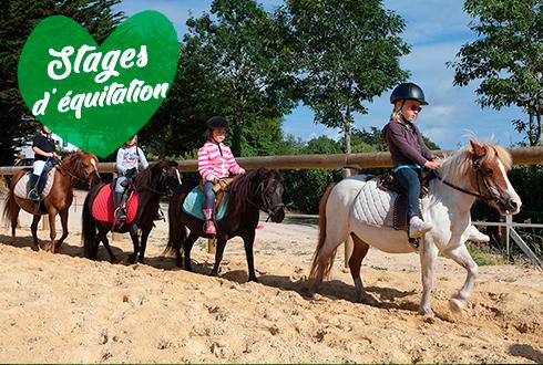 Stages d'équitation au centre équestre Mané Guernehué