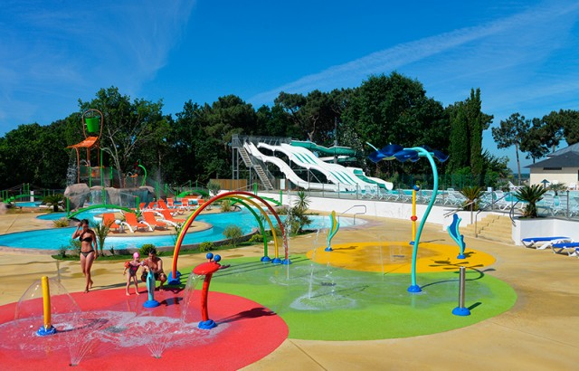 Le parc aquatique Mané Guernehué