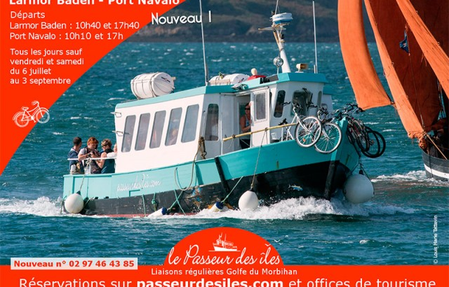 Passeur des îles Larmor Baden Port Navalo