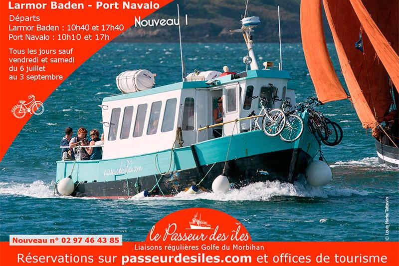 Passeur des îles Larmro Baden Port Navalo