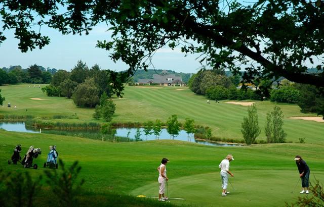 Golf 18 trous à Baden