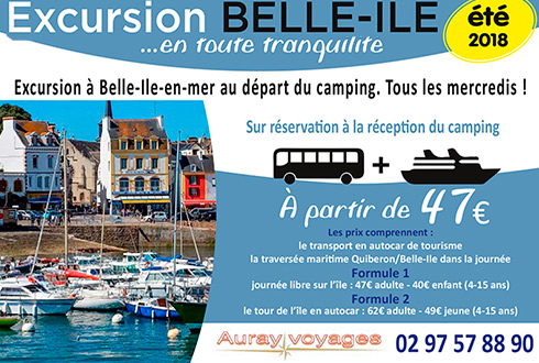 Excursion à Belle-Ile en Mer