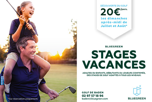 Stage vacances au Golf Bluegreen de Baden
