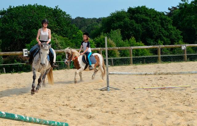 Cours d'équitation et stages