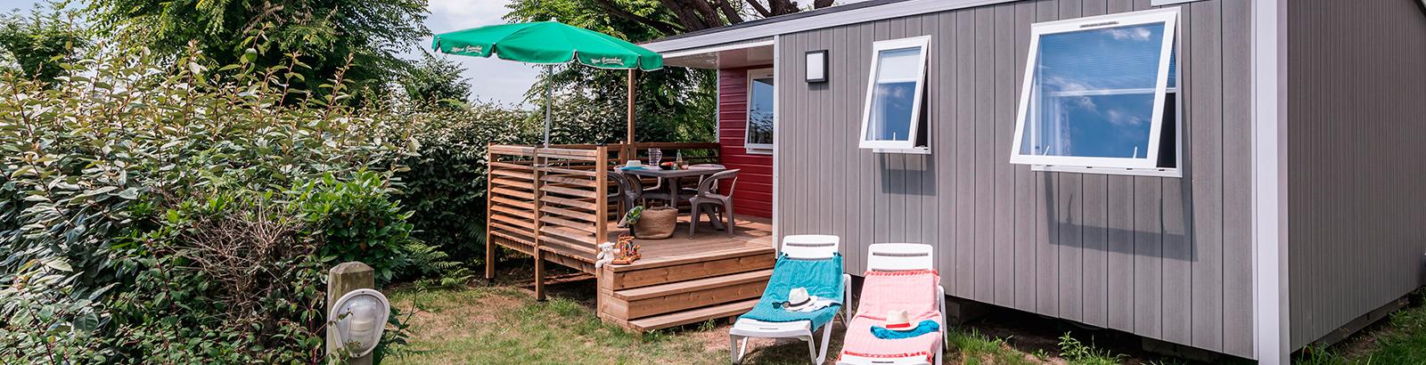 Cottage Atlantique, un joli design et une terrasse couverte