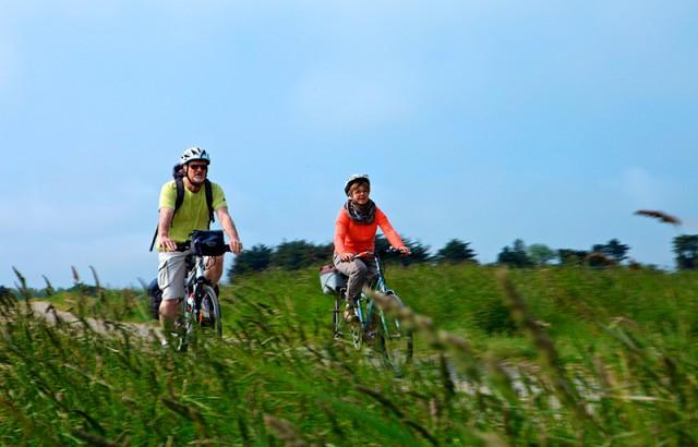 Vélo dans le Golfe du Morbihan Simon Bourcier