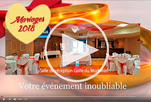 Salle de réception pour un mariage inoubliable