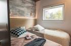 Patio Belle-île chambre avec 2 lits