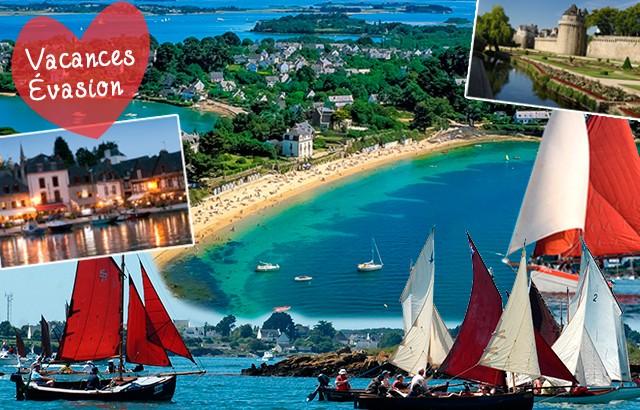 Vacances évasion dans le Golfe du Morbihan