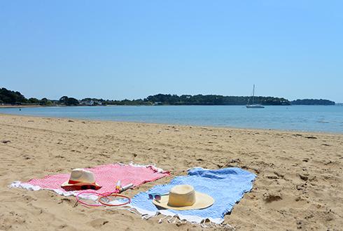 Navette gratuite au camping pour la plage