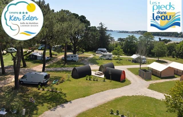 Le camping Ker Eden les Pieds dans l'eau