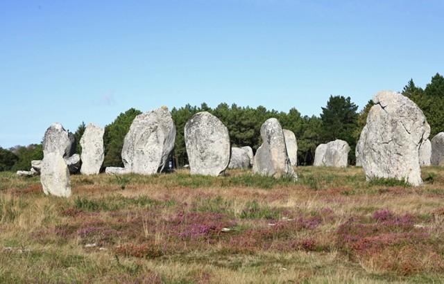 Les alignements de menhirs de Carnac