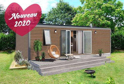 Nouveau mobil-home au camping Mané Guernehué