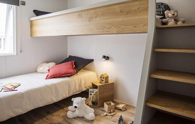 Cottage Cap West 3 chambres : Chambre enfant avec mézzanine