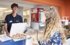 Services : snack pizza à emporter