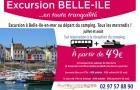 Excursion à Belle Ile avec Auray VoyagesExcursion à Belle Ile avec Auray Voyages