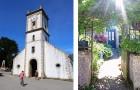 L'église Saint Michel et un jardin