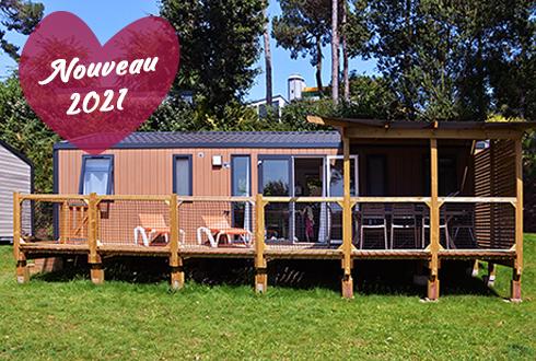 Cottage Grand Large avec terrasse pour 8 personnes