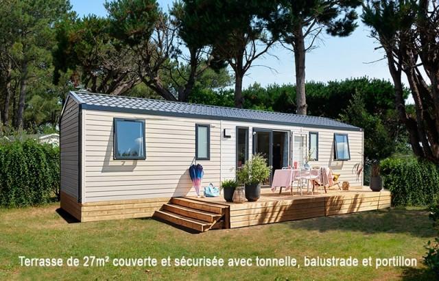 Cottage Grand Large avec terrasse couverte et sécurisée