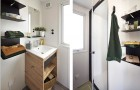 L'une des 2 salles de bain avec douche
