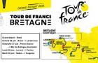 Tour de France à vélo 2021 en Bretagne