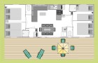Plan du cottage Grand Large 8P