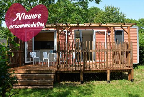 Comfortabel vakantiehuis in mobilhome en chalet