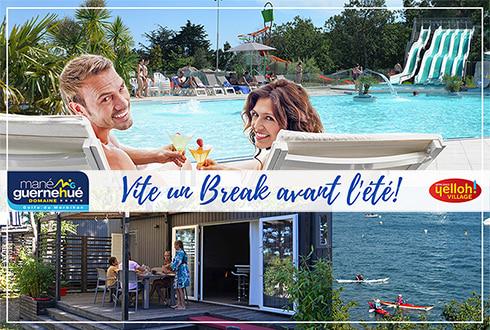Vite un break avant l'été au domaine Mané Guernehué !
