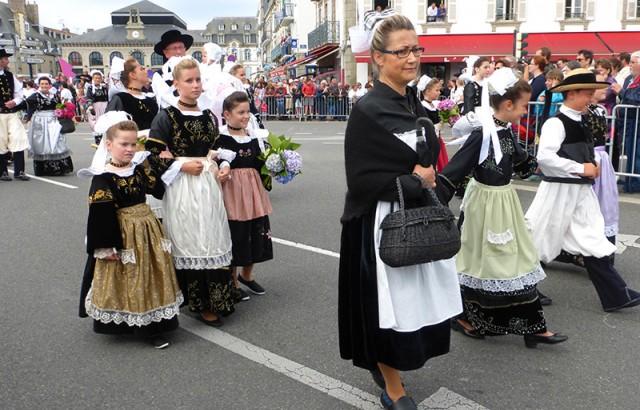 Défilé au Festival Interceltique de Lorient